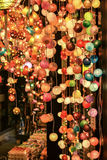 Elegancka lampa dla lekkiego koloru zdjęcia royalty free