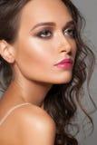 elegancka makeup kobieta fotografia stock