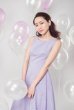 Elegancka moda azjata kobieta Zdjęcia Royalty Free