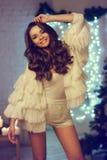 Elegancka modna dziewczyna Zdjęcie Stock