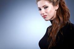 elegancka modna kobieta zdjęcia stock