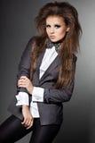 Elegancka modna kobieta Zdjęcie Royalty Free