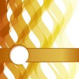 Elegancka mody karta biznesowy plakat Zdjęcie Royalty Free