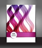Elegancka mody prezentacja biznesowy plakat Obrazy Stock