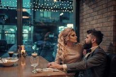 Elegancka para dzień serc ilustracja odizolowywał miłości romansowego s valentine biel miłość powietrza Fotografia Royalty Free