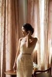 elegancka piękna panna młoda fotografia royalty free