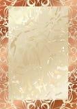elegancka rama royalty ilustracja