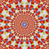 Elegancka rocznik płytki ornamentu tekstura Tekstylny druk ilustracja wektor