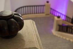 Elegancka schody wnętrza architektura klasyczny schody sta Obraz Royalty Free