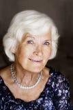 elegancka starsza kobieta zdjęcia stock