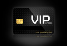 Elegancka VIP karta Zdjęcia Stock