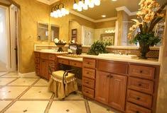 elegancka w łazience Obraz Royalty Free