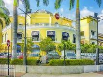 Elegancka zakupy centrum handlowego fasada, Guayaquil, Ekwador Zdjęcie Royalty Free