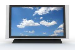 elegancki 3 plazmowy telewizor Zdjęcie Stock