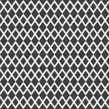 Elegancki abstrakcjonistyczny bezszwowy wzór z czarną graficzną siatką Zdjęcia Royalty Free
