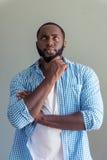Elegancki Afro amerykanina biznesmen Obraz Stock