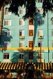 Elegancki art deco Gruziński Hotelowy Snata Monica Obrazy Royalty Free