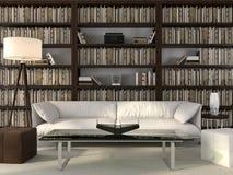 Elegancki biuro i biblioteka Zdjęcia Royalty Free