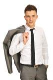 Elegancki biznesowy mężczyzna Fotografia Royalty Free