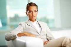 Elegancki bizneswoman fotografia royalty free