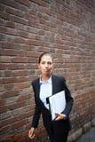 Elegancki bizneswoman zdjęcie royalty free
