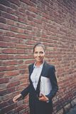 Elegancki bizneswoman zdjęcie stock