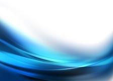 Elegancki Błękitny Abstrakcjonistyczny tło Obrazy Royalty Free