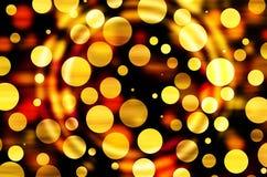 Elegancki Bokeh tło, bożonarodzeniowe światła Zdjęcie Royalty Free