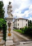 Elegancki budynek w Portobuffolè w prowinci Treviso w Veneto (Włochy) Zdjęcia Stock