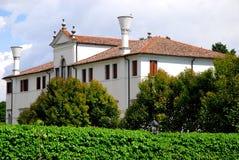 Elegancki budynek w Portobuffolè w prowinci Treviso w Veneto (Włochy) Zdjęcie Royalty Free