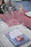Elegancki ceremonia stół Obrazy Stock