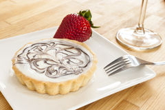 elegancki cheesecake tarta Zdjęcie Stock