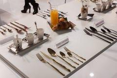 Elegancki cutlery przy gospodarzem 2013 Fotografia Stock