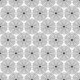 Elegancki Czarny I Biały Monochromatyczny Geometryczny grafika wzór ilustracji