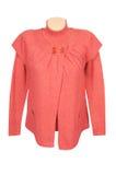 elegancki czerwony puloweru tuniki biel zdjęcia royalty free