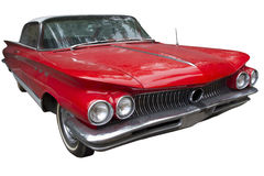 Elegancki czerwony sedanu samochód Obraz Royalty Free