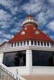 Hotelowy Del Coronado Wyszczególniający Obraz Stock