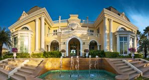 Elegancki dom. Zdjęcia Royalty Free