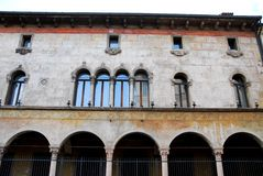 Elegancki i historyczny pałac w Vicenza w Veneto (Włochy) Fotografia Royalty Free