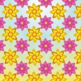 Elegancki I Kolorowy Kwiecistej tapety tło Zdjęcia Royalty Free