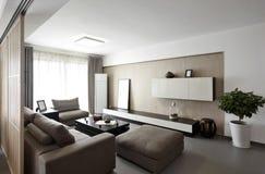 Elegancki i wygodny domowy wnętrze obrazy stock