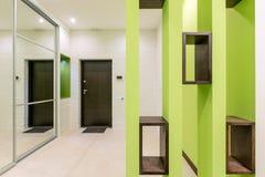 Elegancki jaskrawy korytarza projekt obraz royalty free