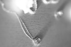 Elegancki jewellery breloczka ornament Obrazy Royalty Free