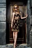 Elegancki kobieta model Obraz Stock