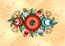 Elegancki kwiecisty ornament w wektorowym formacie - ilustracja Fotografia Royalty Free