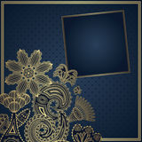 Elegancki kwiecisty projekt Obrazy Royalty Free