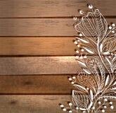 Elegancki kwiecisty tło, ręka rysujący kwiaty Zdjęcia Royalty Free
