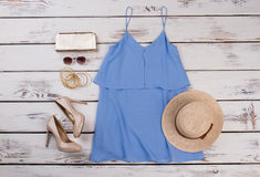 Elegancki lato strój zdjęcie stock