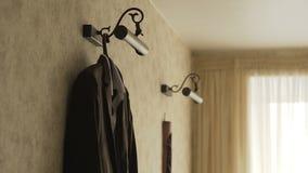 Elegancki mężczyzna ` s kostium Mężczyzna ` s kurtka na mannequin Mężczyzna ` s odzież Mannequins w okno butik target30_1_ zdjęcie wideo