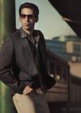 elegancki mężczyzna obraz stock